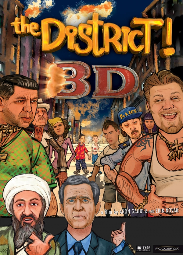 THE DISTRICT! 8D